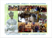 MESSAGE A LA FAMILLE SALETTINE du 28 septembre 2017