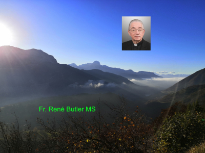 Fr. René Butler MS - 4th Sunday of Lent - Going Back up to Jerusalem