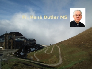 Fr. René Butler MS - 20th Ordinary Sunday - A Universal Message