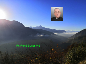 Fr. René Butler MS - Trinity Sunday - Have you Noticed?