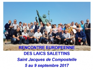 RENCONTRE EUROPEENNE  DES LAICS SALETTINS 2017